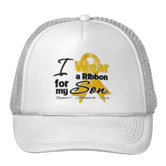 Son - Appendix Cancer Ribbon Trucker Hats