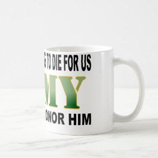 Son Army Honor Basic White Mug