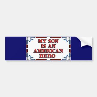 Son Hero Bumper Sticker