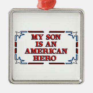 Son Hero Christmas Tree Ornament