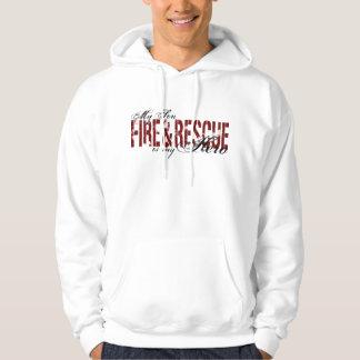 Son Hero - Fire & Rescue Hoodie
