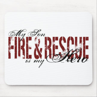 Son Hero - Fire & Rescue Mouse Pad