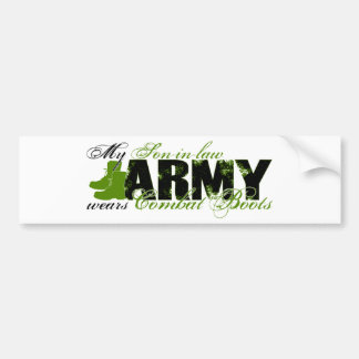 Son-in-law Combat Boots - ARMY Bumper Sticker