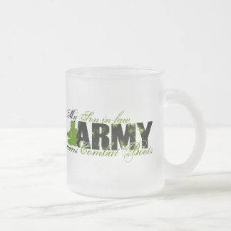 Son-in-law Combat Boots - ARMY Frosted Glass Mug