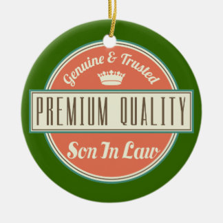 Son in Law (Funny) Gift Christmas Ornament