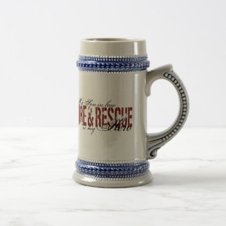 Son-in-law Hero - Fire & Rescue Beer Stein