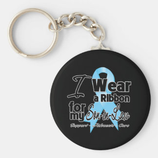 Son-in-Law - Prostate Cancer Ribbon Key Chains