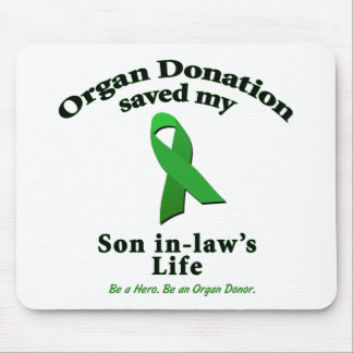 Son-in-law Transplant Mouse Pad