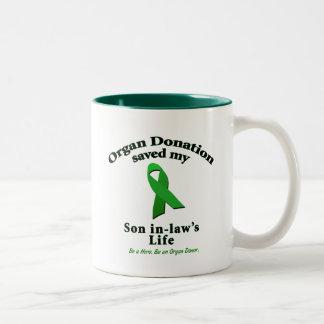 Son-in-law Transplant Coffee Mug