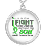 Son Means The World To Me Lymphoma Pendants