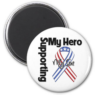 Son - Military Supporting My Hero Refrigerator Magnets