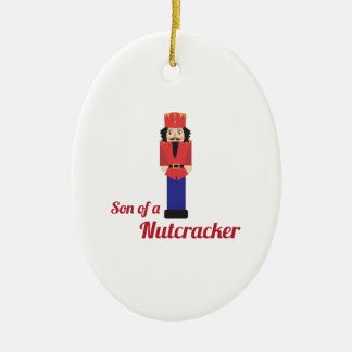 Son of a Nutcracker Christmas Ornament