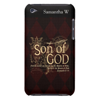 Son of God Romans 8 14 Christian iPod Touch Covers