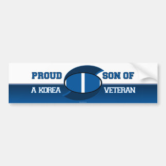 Son of Korean Vet Bumper Sticker