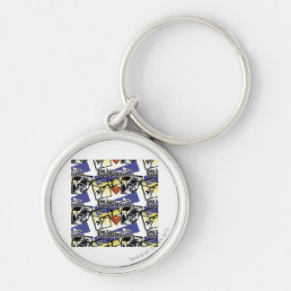 Son of Krypton Collage Key Ring