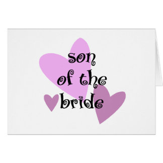 Son of the Bride Card