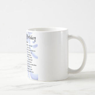 Son poem - 16th Birthday design Basic White Mug