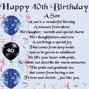 40th Birthday Gift Boxes Keepsake