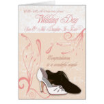 Son Wedding Day Card with love