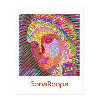 SONAROOPA at Zazzlelist Postcard