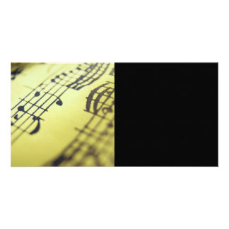 Sonata Sheet Music 3 Photo Cards