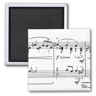 Sonata Something Square Magnet