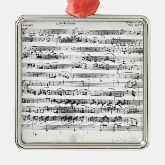 Sonate Premiere for violin and harpsichord Christmas Ornament