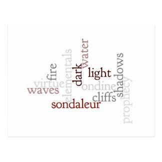 Sondaleur prophecy postcard