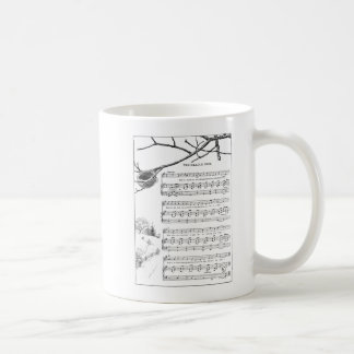 Song for Abandoned Nest in Fall Mugs