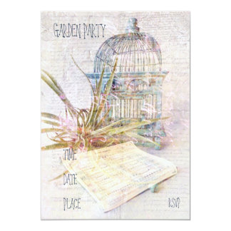 Song for Freedom 13 Cm X 18 Cm Invitation Card