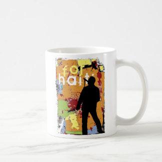 song for haiti, hope for haiti now coffee mug