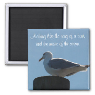 Song of a Bird, Music of the Ocean Seagull Magnet