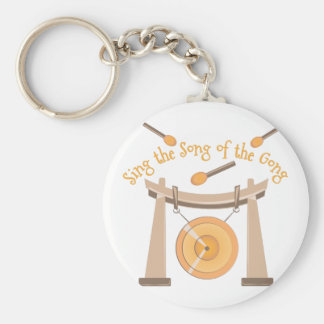 Song Of Gong Basic Round Button Key Ring