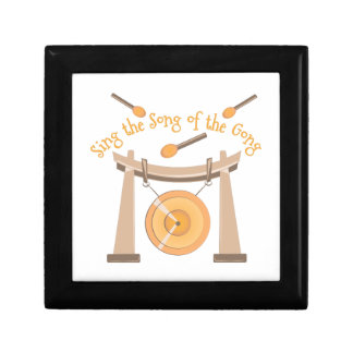 Song Of Gong Small Square Gift Box