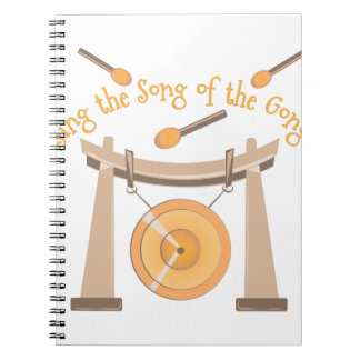 Song Of Gong Note Book