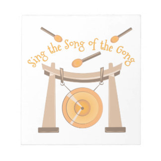 Song Of Gong Notepad