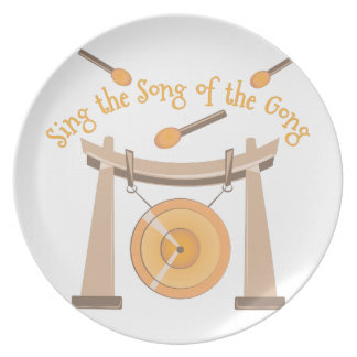 Song Of Gong Dinner Plates