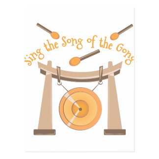 Song Of Gong Postcard