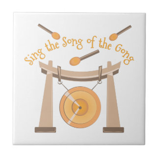 Song Of Gong Small Square Tile