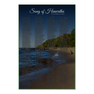 Song of Hiawatha - By Longfellow Poster