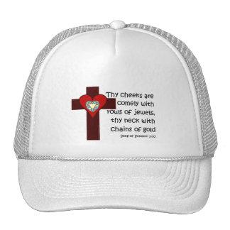 Song of Solomon 1:10 Trucker Hats