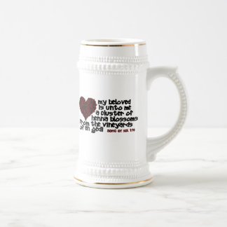 Song of Solomon 1:14 Beer Steins
