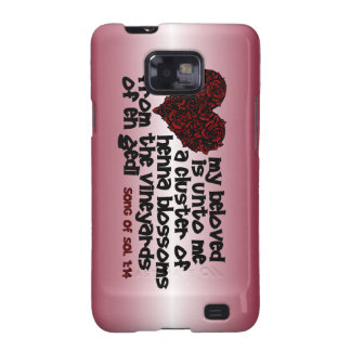 Song of Solomon 1:14 Samsung Galaxy SII Cover