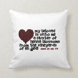 Song of Solomon 1 14 Throw Pillow