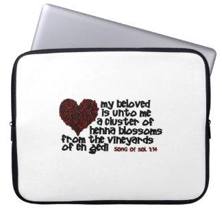 Song of Solomon 1:14 Laptop Sleeve
