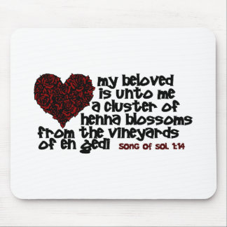 Song of Solomon 1 14 Mouse Pads