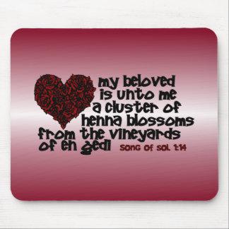 Song of Solomon 1 14 Mousepad