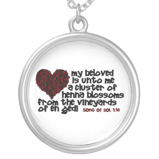 Song of Solomon 1 14 Personalized Necklace