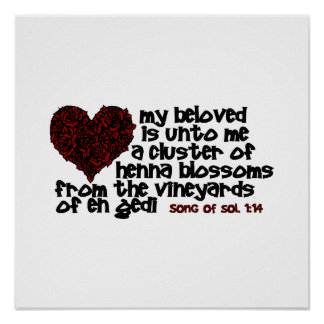 Song of Solomon 1:14 Print