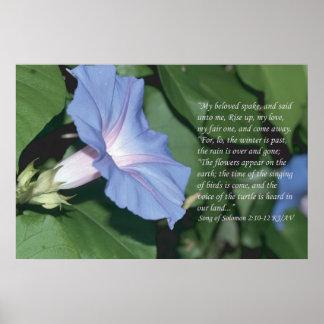 Song of Solomon 2 10-12 Scripture Print